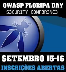 Apresentação de trabalhos no OWASP Floripa Day