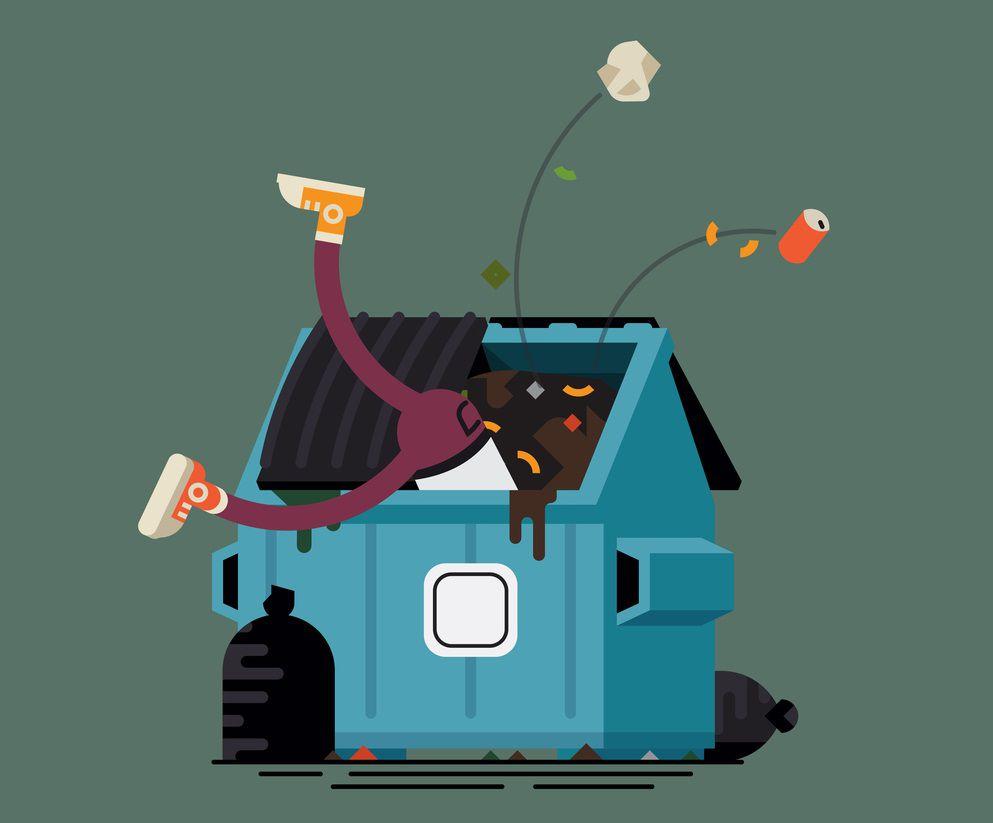 Dumpster Diving –  O problema está no lixo
