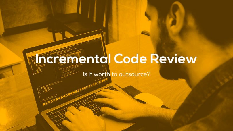 Incremental Code Review: Is it worth to outsource?