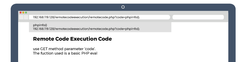 remote code execution example